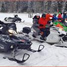 Snowmobil Touren in Tratten 2015: rasante Motorschlitten Touren mit Helmut Holleis und Christoph Brandstätter in den Turracher Alpen
