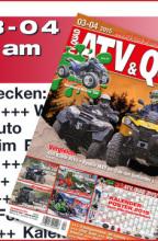 ATV&QUAD Magazin 2015/03-04: ab 27. März 2015 am Kiosk
