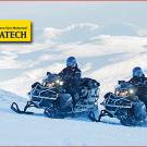 Lynx Commander Touratech: Martin Wickert und Sami Päivike auf Abenteuer-Tour von Rovaniemi in Finnland bis ans Polarmeer