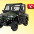 Fahrerkabine für die Kymco UXV 700: rüstet für jeden erdenklichen Einsatz im land- und forstwirtschaftlichen Bereich