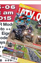 ATV&QUAD Magazin 2015/05-06: ab 3. Juni 2015 am Kiosk