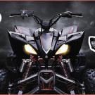 3ppp: bietet aktuell eine begrenzte Anzahl Scheinwerfer für die Yamaha 700 Raptor mit Prüfzeichen für die Straßenzulassung an