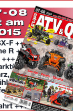 ATV&QUAD Magazin 2015/07-08: ab 14. August 2015 am Kiosk