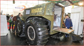 Sherp ATV: Das Ballonreifen-Fahrzeug aus Russland ist eine spannende Mischung aus Amphibienfahrzeug und Offroader; auf der Absolut Allrad 2016 vom 25. bis zum 28. Februar in Salzburg ist es präsentiert worden