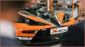 1.000 KTM X-BOW: 2008 wurde der 1. ausgeliefert; nun ist der 1.000 KTM X-Bow bei einer Pressekonferenz zusammengesetzt worden