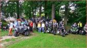 Mit den Quads beim Kinderheim Wunsiedel: Am 29. Juni 2016 wurden gemeinsame Ausfahrten unternommen