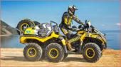 Outlander für den Rallye-Einsatz: Das Arbeitstier wurde von Touratech zum Prototypen fürs Offroadfahren gerüstet