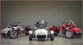 Can-Am Spyder Roadster Days 2017: vom 17. März bis zum 9. April 2017