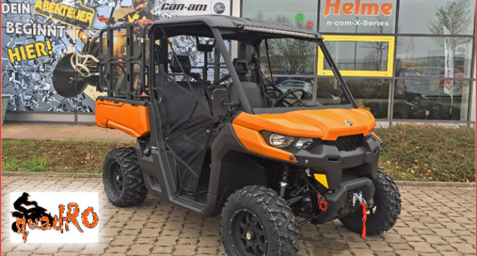 Service Point quad-Ro: Umgebaute Can-Am Traxter