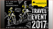 Touratech Travel Event 2017: vom 9. bis 11. Juni in Niedereschach