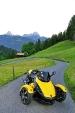 Can-Am Spyder Alpen-Tour 2009: Schwab & Sacksteder folgen dem Ruf der Berge