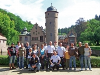 Filmkulisse: das Schloss Mespelbrunn als Drehort 1958