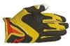 MX-Handschuhe: ,Dual' in Gelb/Rot/Schwarz