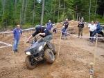 Markus Lypp mit der neuen Maschine, Sportsman 400