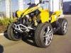 Winterreifenpflicht in Deutschland: Sacksteder-Renegade mit M+S-Reifen-Felgen-Kombination als aufwändige und teure Umrüstung auf Winterreifen, die nur für wenige ATVs und Quads verfügbar ist