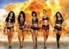 Heiße Motoren, heiße Auspuffs, heiße: Fuel Girls