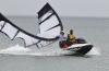 Das Sea-Doo Rescue Team war eine hilfreiche Unterstützung beim Saisonauftakt des Kite-Surfing.