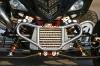 Quad-Paradies, Yamaha YFM 700 Raptor Turbo: Ladeluftkühler integriert im Frontbumper