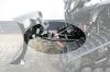 Auf Knopfdruck: Hubsystem für Warn-Schneeschild