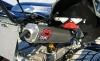 Yamaha YFM 700 Raptor LTD 2011: Fourtec-Umbau mit Double-Pipe Auspuff-Endtopf von DMC und LED-Beleuchtung am Heck