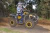 Endurance Masters 2011, 2. Lauf in Rottleben: ATV-Pilot Daniel Kästner hält auf Can-Am Outlander Quad-Speed mit, muss aber mit defektem Fahrzeug aufgeben
