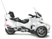 Can-Am Spyder Roadster RT LTD: Für alle Fahrzeuge, die bis zum 31. Januar 2012 neu gekauft werden, verlängert Can-Am die Garantie auf 3 Jahre