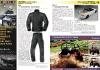 ATV&QUAD Magazin 2011/05, Seite 10-11, Aktuell: News & Trends Büse: Textil-Kombi 'Open Road' BMW M: Rasender Pick-Up