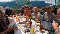 Can-Am-Spyder-Treffen 2011: Kulinar- und Klanggenuss 'Bei Rosi' in Kitzbüehl