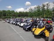 Can-Am-Spyder-Treffen 2011: in diesem Jahr über Himmelfahrt in Erba / Italien