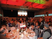 Can-Am-Spyder-Treffen 2011: großes Gala-Dinner in der Festhalle von Erba