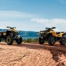 Can-Am Renegade und Outlander 1000: mit 976 Kubik und 82 PS die stärksten in ihren Klassen