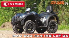 Kymco Präsentation Model-Range 2011: MXU 500 4x4 IRS LoF DX