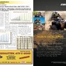 ATV&QUAD Magazin 2011/07-08, Seite 8-9, Aktuell: Zulassungszahlen VKP und LoF-Zugmaschinen Neuzulassungen Deutschland Januar-Juni 2010 / 2011