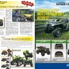 ATV&QUAD Magazin 2011/07-08, Seite 10-11, Aktuell: News & Trends  Can-Am: Preise für Outlander 1000 und Commander Limited  Explorer: FaceBook-Voting für Design-Studien