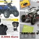 ATV&QUAD Magazin 2011/07-08, Seite 12-13, Aktuell: News & Trends  Quad Stadl Schwab / Sacksteder: Aktion für Quad-Einsteiger