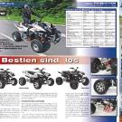ATV&QUAD Magazin 2011/07-08, Seite 24-25,  Präsentation beeline: Die Bestien sind los