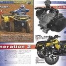 ATV&QUAD Magazin 2011/07-08, Seite 30-31,  Präsentation Can-Am Outlander 1000: Generation 2