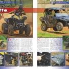 ATV&QUAD Magazin 2011/07-08, Seite 34-35,  Präsentation Can-Am Renegade 1000 und Commander 1000 Limited