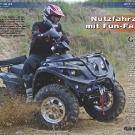 ATV&QUAD Magazin 2011/07-08, Seite 38-45,  Test Linhai ATV 420 4x4: Nutzfahrzeug mit Fun-Faktor