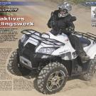 ATV&QUAD Magazin 2011/07-08, Seite 46-51,  Test Explorer Argon 700: Attraktives Erstlingswerk