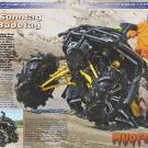 ATV&QUAD Magazin 2011/07-08, Seite 52-55,  Fahrbericht Can-Am Outlander 800R X mr: Am Sonntag ist Badetag