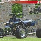 ATV&QUAD Magazin 2011/07-08, Seite 58-59,  Poster Umbau Engelhardt Banshee 600 Fazer: Vier statt zwei