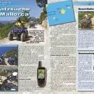 ATV&QUAD Magazin 2011/07-08, Seite 66-67,  Abenteuer Geocaching: Schatzsuche auf Mallorca