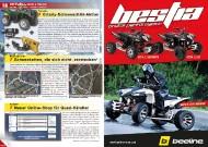 ATV&QUAD Magazin 2011/09-10, Seite 18-19, Aktuell: News & Trends  Yamaha: Grizzly-Schneeschild-Aktion Baumgartner: Schneeketten, die sich nicht verstecken Keszler: Neuer Online-Shop für Quad-Händler