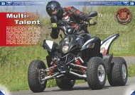 ATV&QUAD Magazin 2011/09-10, Seite 38-43,  Test Motobionics Bistrada 3.5 SuperMoto: Multi-Talent