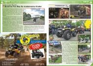 ATV&QUAD Magazin 2011/09-10, Seite 88-89,  Szene:  Quadkameraden Oberpfalz: Quad for Fun Day für krebskranke Kinder Bayern-Park: 8. Treffen 2011