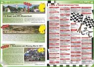 ATV&QUAD Magazin 2011/09-10, Seite 94-95,  Szene:  Autoscheune Gerlach / Quad4More: 2. Quad- und ATV-Stammtisch ActionQuad: 3. Arctic-Cat-Treffen 2011 Hostettler: Motocross und Racing Markt 2011 Termine: Cups & Meisterschaften
