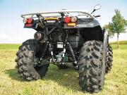 K&S Quad, Kawasaki KVF 750 (Modell 2012) mit LoF-Zulassung: mit Oversize-Reifen stark im Abgang