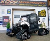 Quadconnection, Polaris Ranger RZR: auf Wunsch auch mit Ausrüstung für den Winterdienst