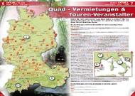 ATV&QUAD Magazin 2011/11-12, Seite 6-7, Aktuell: Erlebnis Quadvermietungen und Tourenveranstalter